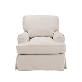 Delicieux Eton Club Chair Slipcover   Special Order Fabrics