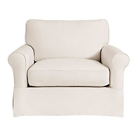 Baldwin Swivel Chair Slipcover