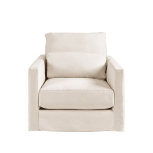 Dakota Swivel Chair - Slipcover and Frame