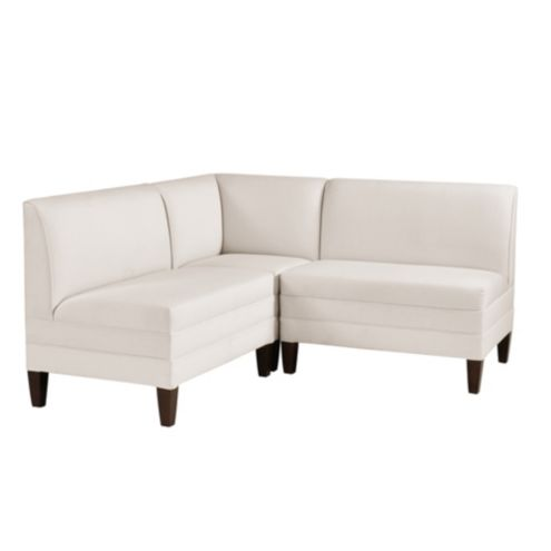 Bristol Sectional - Two 36' Benches & Corner