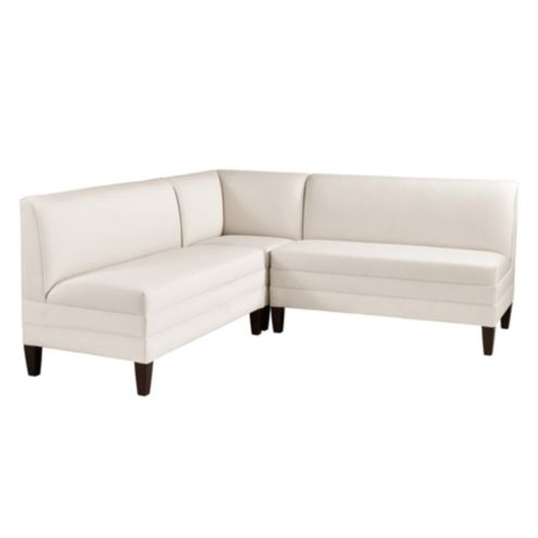 Bristol Sectional - Two 48' Benches & Corner