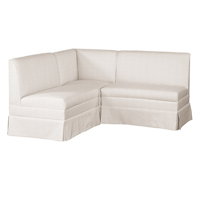 Fantastic Coventry Sectional Corner Bench Two 36 Benches Ballard Designs Gmtry Best Dining Table And Chair Ideas Images Gmtryco