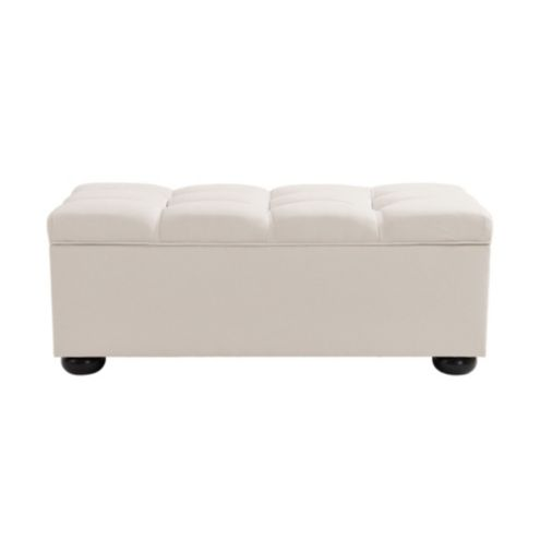 Amelia Tufted Storage Bench