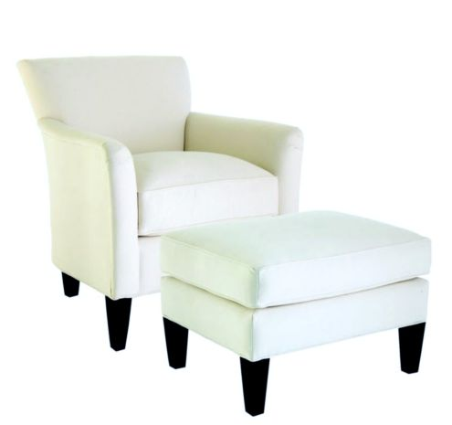Joselin Chair and Ottoman