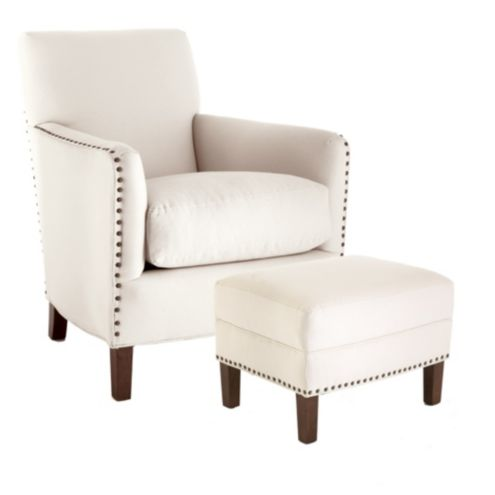Brighton Club Chair & Ottoman