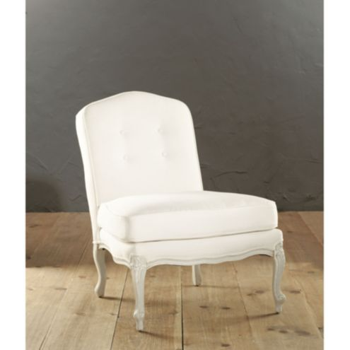 Charlotte Armless Chair