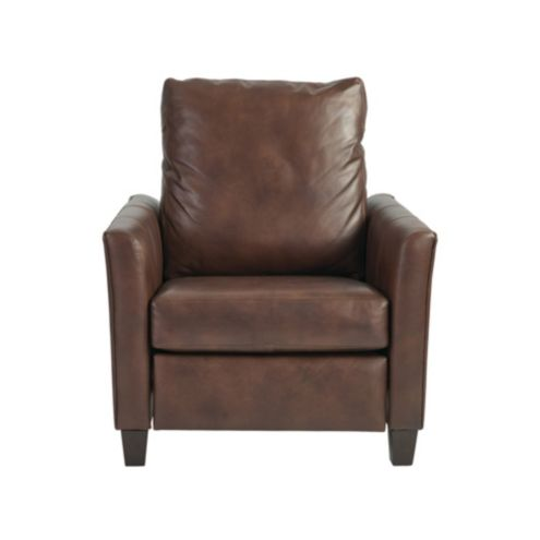 Layla Leather Recliner Chocolate