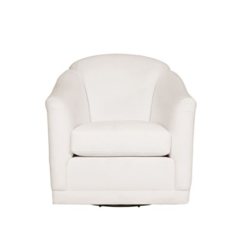 Bunny Williams Hartland Swivel Glider Custom Upholstered Chair