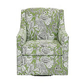 Carlyle Swivel Chair In Pheasant Fern - Stocked