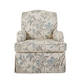 Annahelen Swivel Glider in Becca Cloud