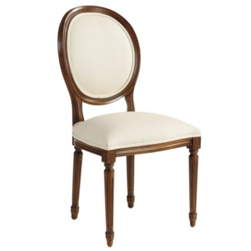 Louis XVI Oval Back Side Chair