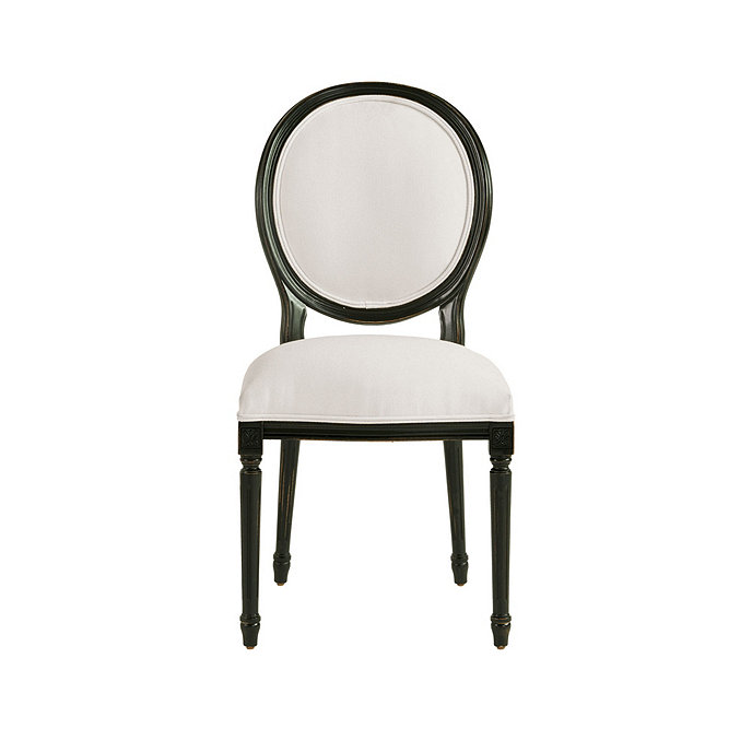 Oval Back Louis Xvi Side Chair