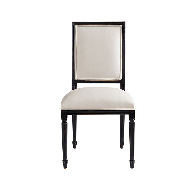 Amazing Square Back Louis Xvi Side Chair Ballard Designs Caraccident5 Cool Chair Designs And Ideas Caraccident5Info