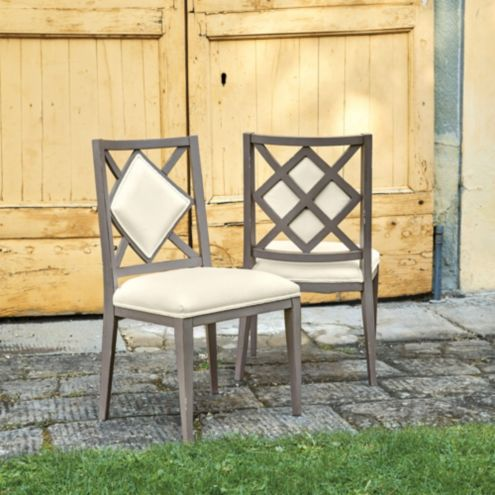 Casa Florentina Lucinda Dining Side Chairs, Set of