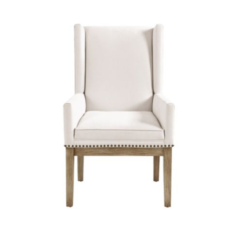 Marlene Dining Chair with Brass Nailheads