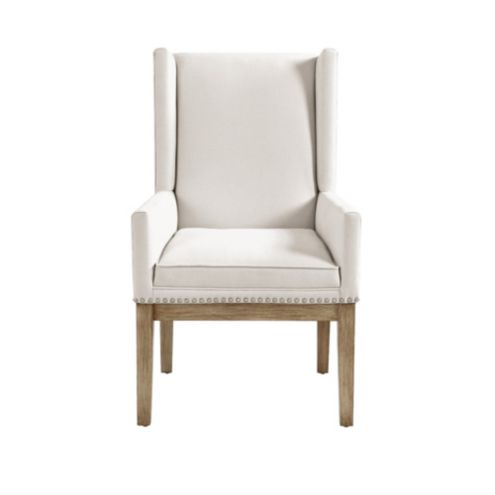 Marlene Dining Chair with Pewter Nailheads
