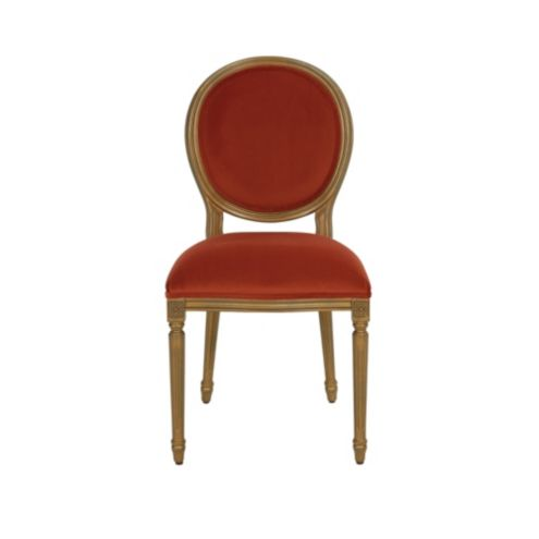 Limited Edition Louis Oval Velvet Dining Chair