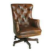 Casa Florentina Enzo Leather Desk Chair