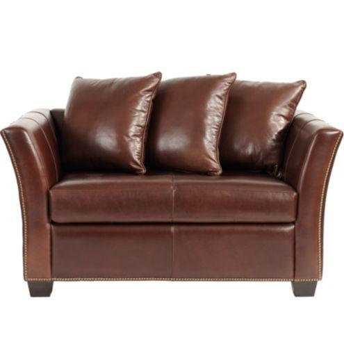 Tate Leather Twin Sleeper Chair Ballard Designs