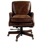 Rhodes Leather Desk Chair