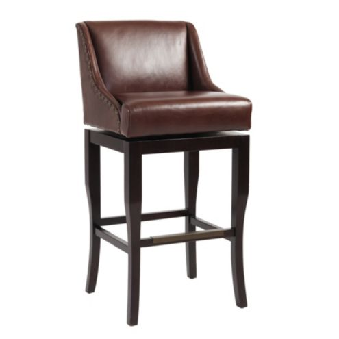 Marcello Leather Barstool Mineral