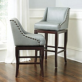 Marcello Leather Counter Stool