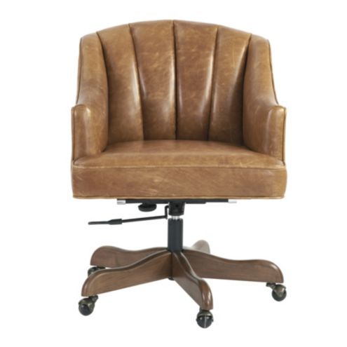 Holly Leather Desk Chair