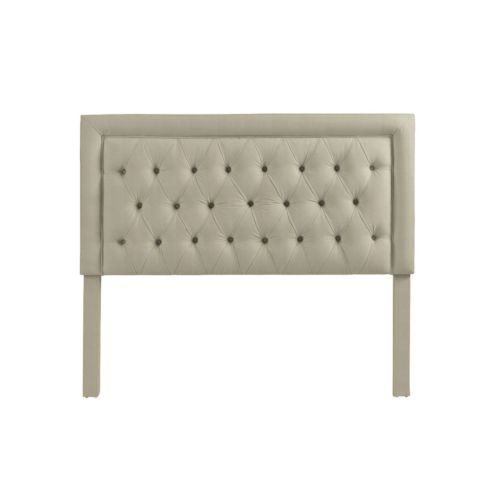 Giselle Headboard in Everyday 10oz Linen Natural -