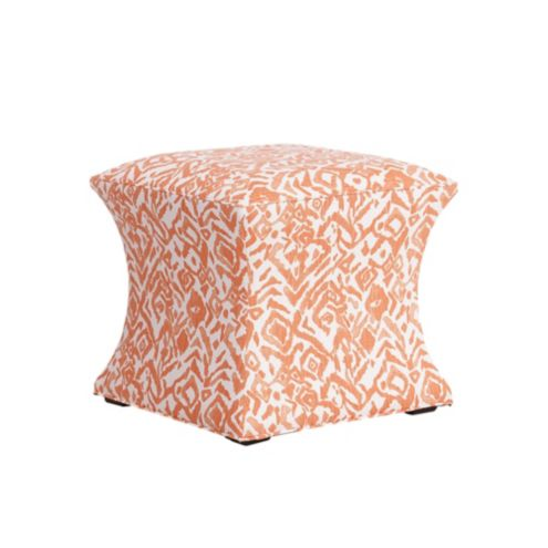 Courbe Ottoman in Cassia Orange & Stocked