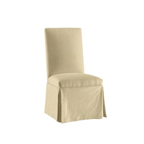Awe Inspiring Parsons Chair Slipcover Suzanne Kasler Signature 13Oz Linen Gmtry Best Dining Table And Chair Ideas Images Gmtryco