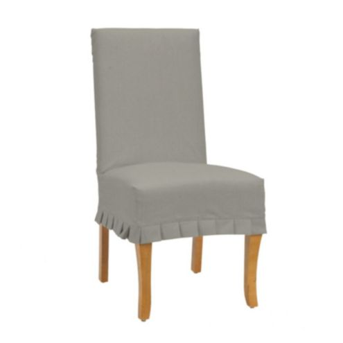 Suzanne Kasler Signature Duck Couture Chair Pleat Slipcover