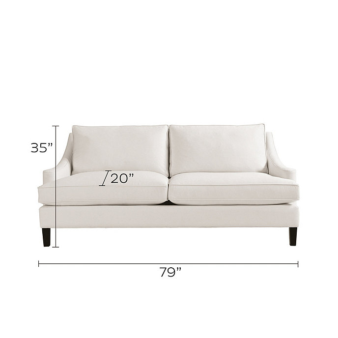 Manchester Upholstered Apartment Sofa