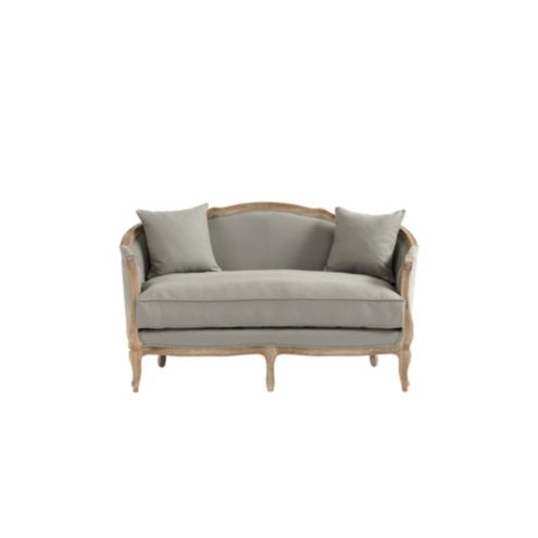 Sofia Upholstered Settee - Stocked