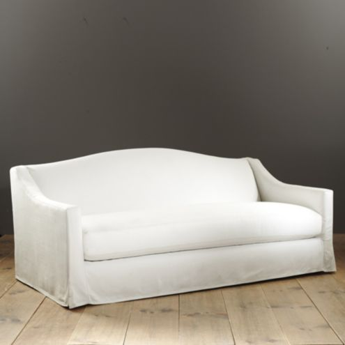 Riviera Indoor Outdoor Sofa With Slipcover Made To