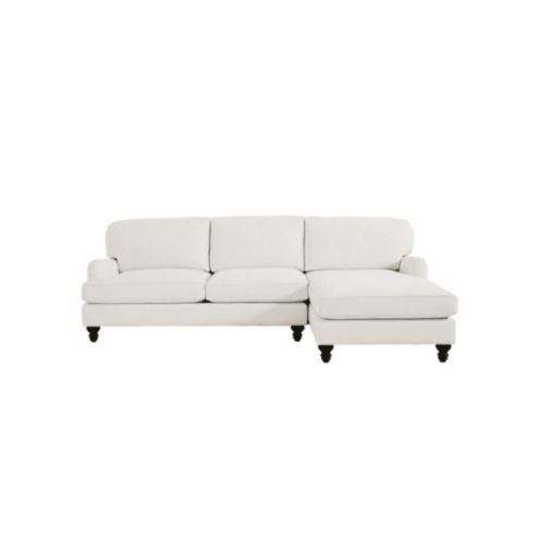 Eton Upholstered 2-Piece Sectional with Left Arm Apartment