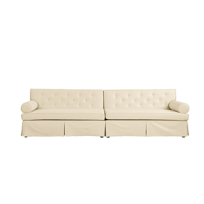 Pleasing Miles Redd Lily 2 Piece Sectional Sofa With Box Skirt Beatyapartments Chair Design Images Beatyapartmentscom