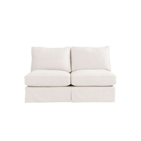 Baldwin Upholstered Armless Loveseat