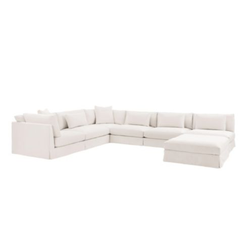 Roswell Custom Sectional Sofa 5 Piece Set
