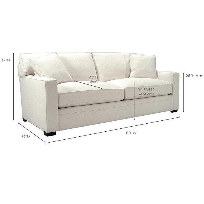 Graham Upholstered Sofa Ballard Designs Ballard Designs