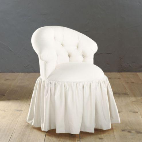 Ava Vanity Stool | Ballard Designs