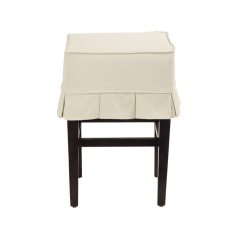 Mallory Counter Stool Slipcovered