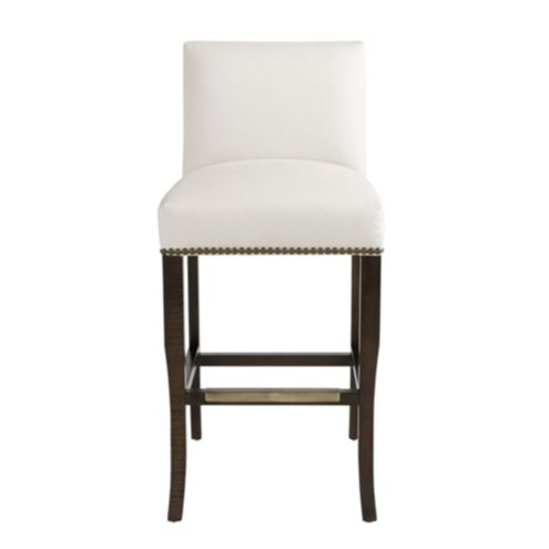 Harris Barstool with Brass Nailheads