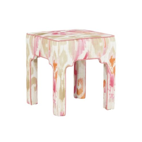 Nala Stool in Millie Pink with Suzanne Kasler