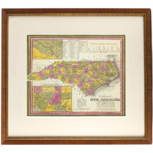 North Carolina State Map Ballard Designs