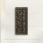 Morningside Branch Rectangle Wall Address Plaque