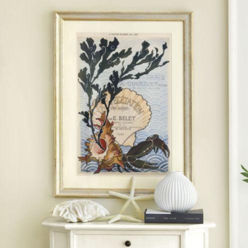Sous Marine Framed Art Ballard Designs