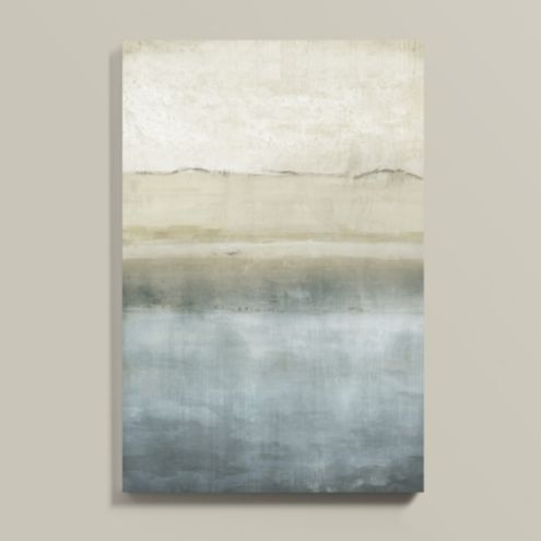 Pacific View Stretched Canvas