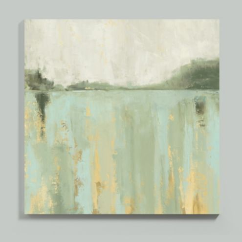 Mineral Reflection Stretched Canvas