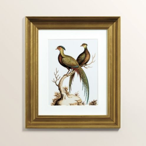Petite Regal Pheasants Art