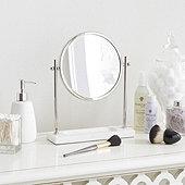 Marble Tabletop Vanity Mirror